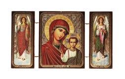 Icona cristiana Fotografia Stock
