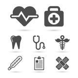 Icona d'avanguardia della medicina per progettazione Elemento di vettore Immagini Stock Libere da Diritti