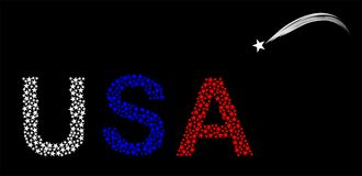 Icona degli S.U.A Fotografia Stock Libera da Diritti