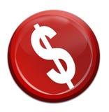 Icona dei soldi Fotografie Stock