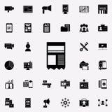 icona del bollettino Insieme universale delle icone di vendita di Digital per il web ed il cellulare royalty illustrazione gratis