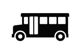 Icona del bus Fotografie Stock