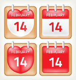 Icona del calendario Fotografie Stock Libere da Diritti