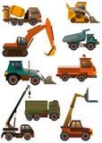 Icona del camion del fumetto Fotografia Stock
