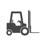 Icona del carrello elevatore illustrazione di stock