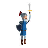 Icona del cavaliere di Medival Fotografia Stock