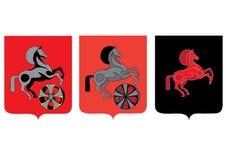 Icona del cavallo Immagini Stock