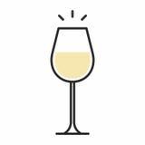 Icona del cocktail Immagini Stock