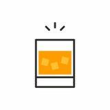 Icona del cocktail Immagine Stock Libera da Diritti