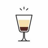 Icona del cocktail Fotografie Stock