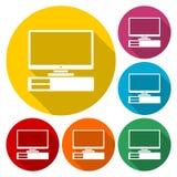 Icona del computer illustrazione vettoriale
