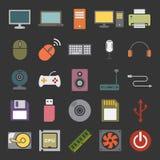 Icona del computer Fotografia Stock