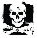 Icona del cranio Immagini Stock Libere da Diritti