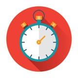 Icona del cronometro Fotografia Stock