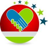 Icona del cuore Fotografie Stock