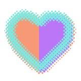 Icona del cuore Immagini Stock