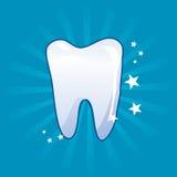 Icona del dente - illustrazione di vettore Fotografie Stock Libere da Diritti