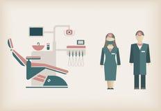 Icona del dentista Immagini Stock Libere da Diritti