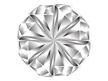 Icona del diamante Fotografie Stock Libere da Diritti