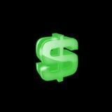 Icona del dollaro Fotografie Stock