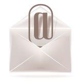 Icona del email Immagine Stock