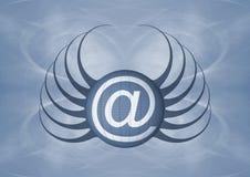 Icona del email Fotografie Stock
