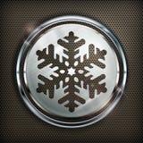 Icona del fiocco di neve Fotografia Stock Libera da Diritti