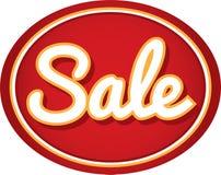 Icona del fondo dell'autoadesivo dell'etichetta di vendita Immagini Stock