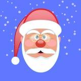 Icona del fronte della Santa illustrazione di stock