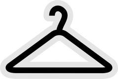 Icona del gancio di vestiti illustrazione vettoriale