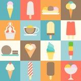 Icona del gelato Fotografie Stock Libere da Diritti