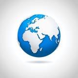 Icona del globo - illustrazione Immagini Stock