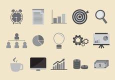 Icona del lavoro Immagini Stock