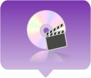 Icona del lettore multimediale Fotografie Stock