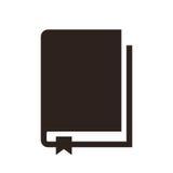 Icona del libro illustrazione di stock