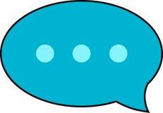 Icona del messaggio Immagine Stock