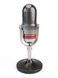 Icona del microfono Immagini Stock