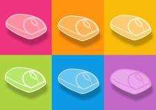 Icona del mouse Fotografia Stock Libera da Diritti