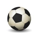 Icona del pallone da calcio Fotografia Stock