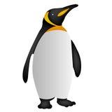 Icona del pinguino, icona eps10, vettore del pinguino dell'icona del pinguino Fotografia Stock Libera da Diritti