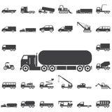 Icona del prodotto chimico del camion royalty illustrazione gratis