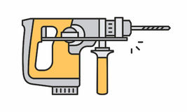 Icona del Puncher Fotografia Stock Libera da Diritti