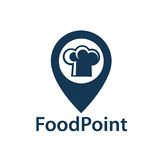 Icona del punto dell'alimento royalty illustrazione gratis