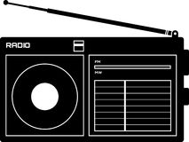Icona del radioricevitore illustrazione vettoriale