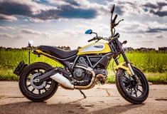 Icona del rimescolatore - Ducati Fotografia Stock