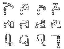 Icona del rubinetto royalty illustrazione gratis
