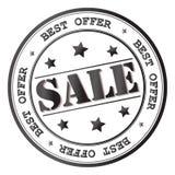 Icona del segno di vendita di vettore Immagine Stock Libera da Diritti