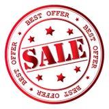 Icona del segno di vendita di vettore Immagini Stock Libere da Diritti