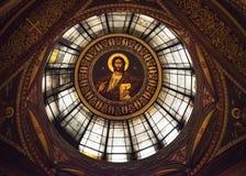 Icona del soffitto di Jesus Christ Immagini Stock