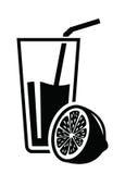 Icona del succo Immagini Stock